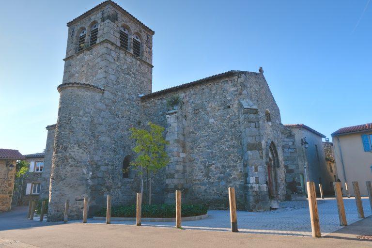 église vieux bourg Montagny